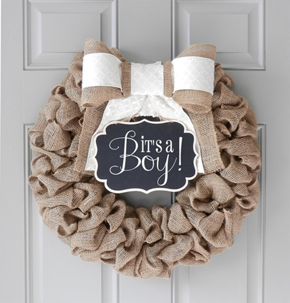8 ways to personalize your hospital birth for you and baby for Baby hospital door decoration