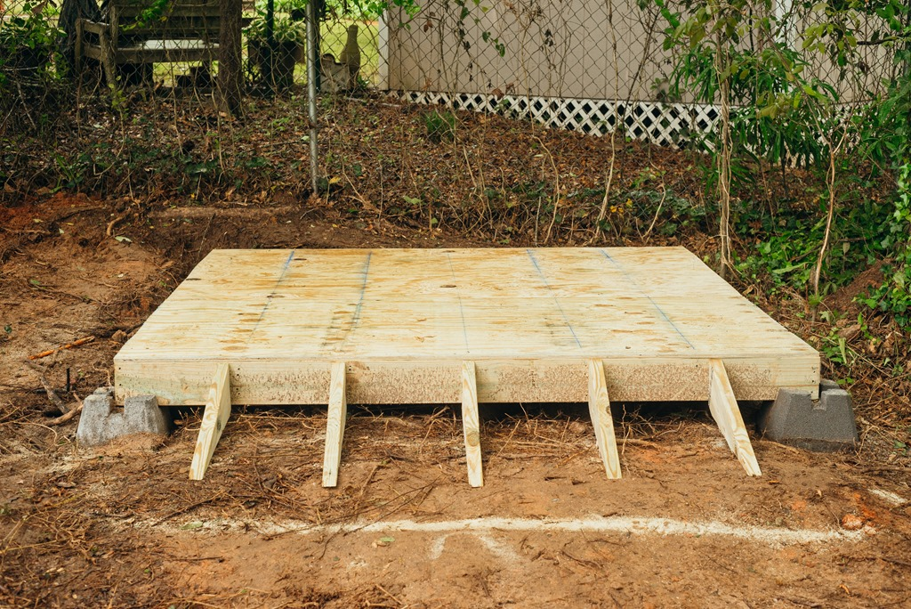 How To Build A Foundation For A Rubbermaid Storage Shed